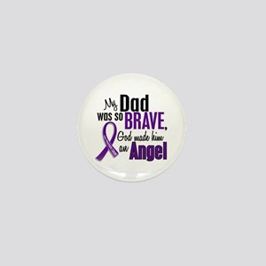 Angel 1 Pancreatic Cancer Mini Button