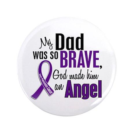 "Angel 1 Pancreatic Cancer 3.5"" Button"