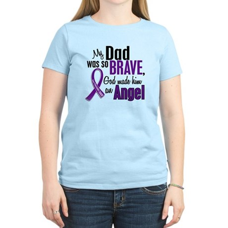 Angel 1 Pancreatic Cancer Women's Light T-Shirt