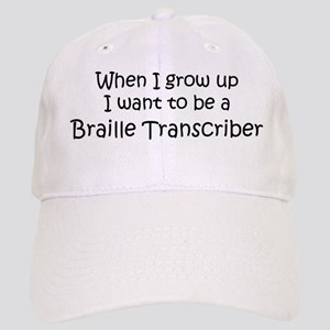 Grow Up Braille Transcriber Cap