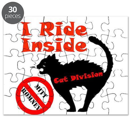 I Ride Inside (Cat Division) Puzzle