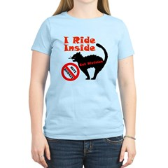 I Ride Inside (Cat Division) Women's Light T-Shirt