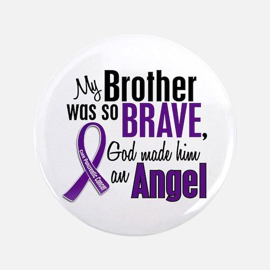 "Angel 1 Pancreatic Cancer 3.5"" Button (100 pa"