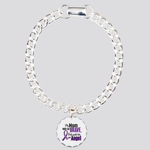Angel 1 Pancreatic Cancer Charm Bracelet One Char