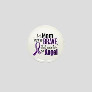 Angel 1 Pancreatic Cancer Mini Button