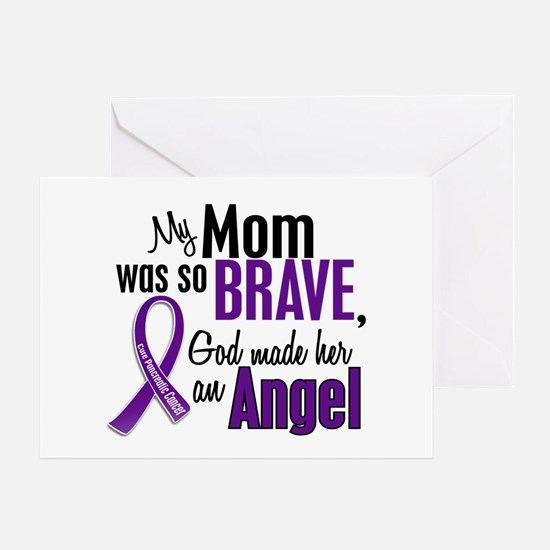 Angel 1 Pancreatic Cancer Greeting Card