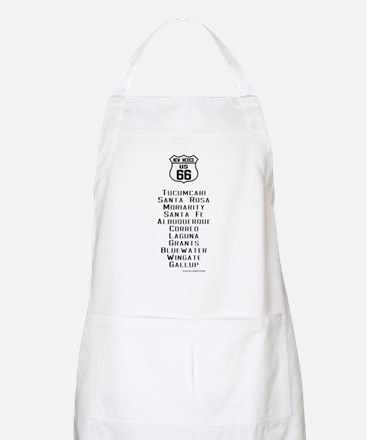 US Route 66 New Mexico Cities Apron