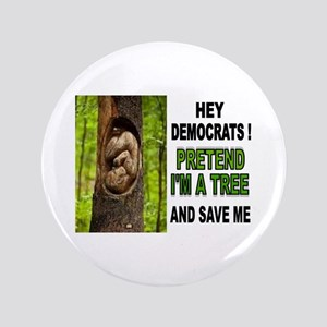 "SAVE A BABY 3.5"" Button"