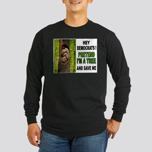 SAVE A BABY Long Sleeve Dark T-Shirt