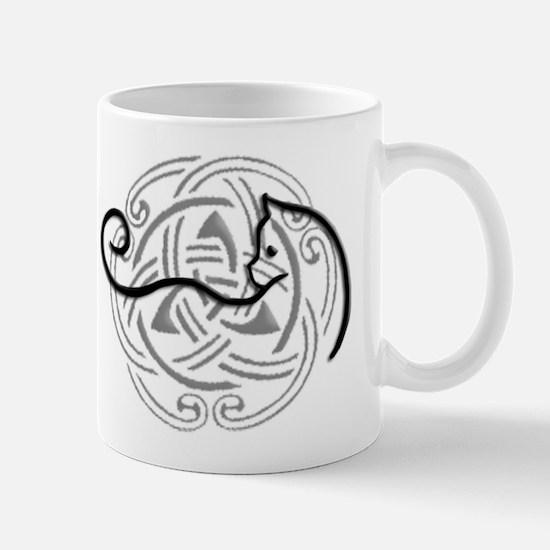 Unique Celtic cat Mug