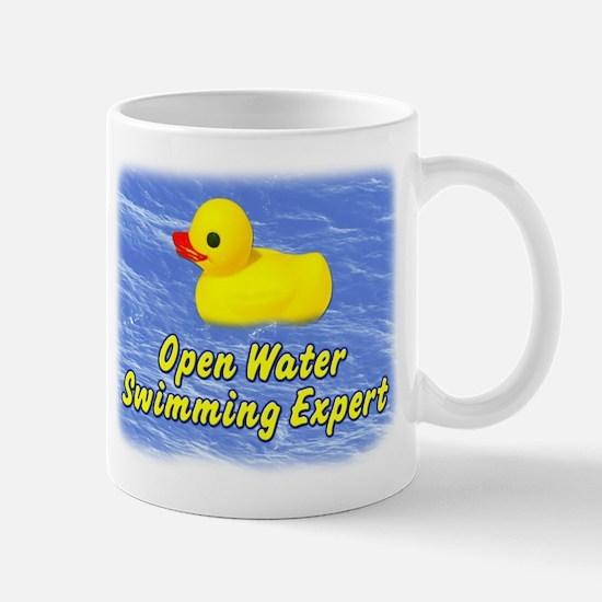 Open Water Swimming Expert Duck Mug