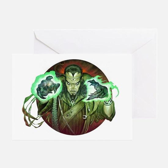 Warlock - Greeting Card