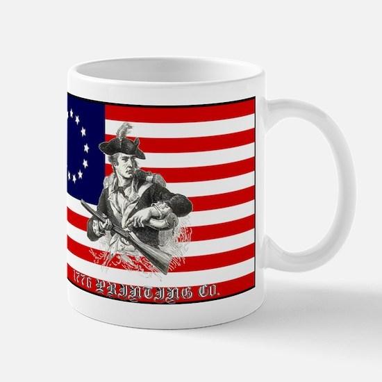 1776 PRINTING CO. LOGO Mug