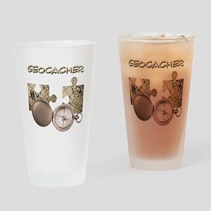 Geocacher Drinkware Drinking Glass