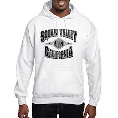 Squaw Valley Black & Silver Hoodie