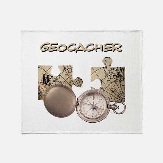 Geocacher Throw Blanket