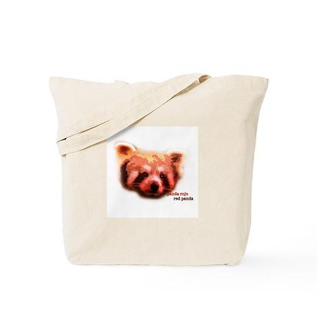 Red Panda / Panda Rojo Tote Bag