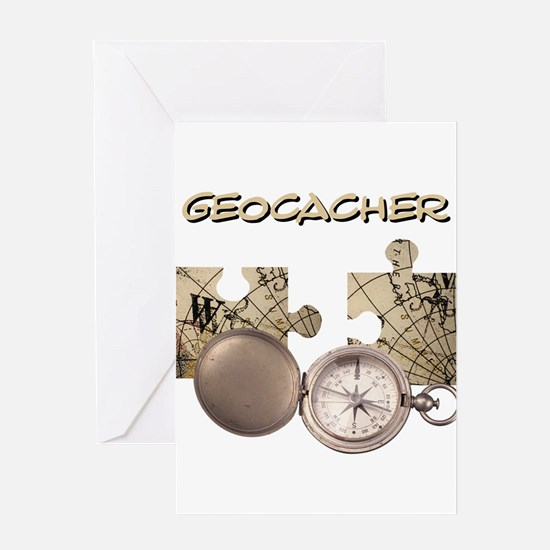 Geocacher Greeting Card