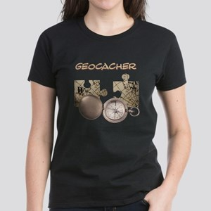 Geocacher Women's Dark T-Shirt