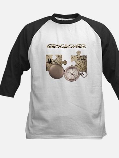 Geocacher Kids Baseball Jersey