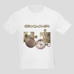 Geocacher Kids Light T-Shirt