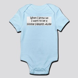Grow Up Home Health Aide Infant Creeper