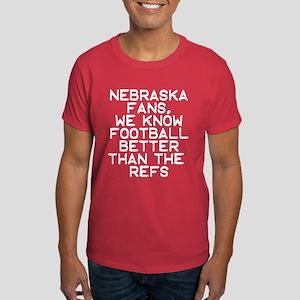Nebraska Fans, know football better than the refs