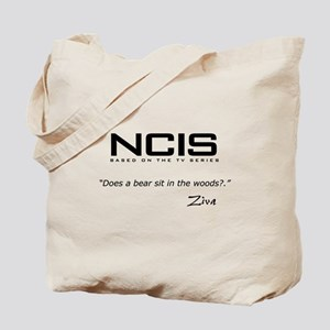 NCIS Ziva David Bear Quote Tote Bag