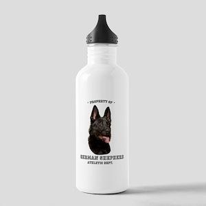 German Shepherd Athletics Stainless Water Bottle 1