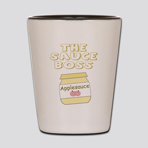 The Sauce Boss Baby Jar Shot Glass