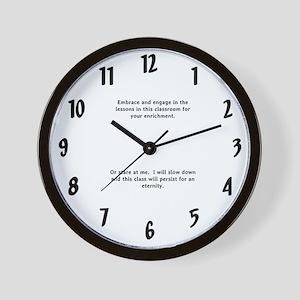 schoolroom clock Wall Clock