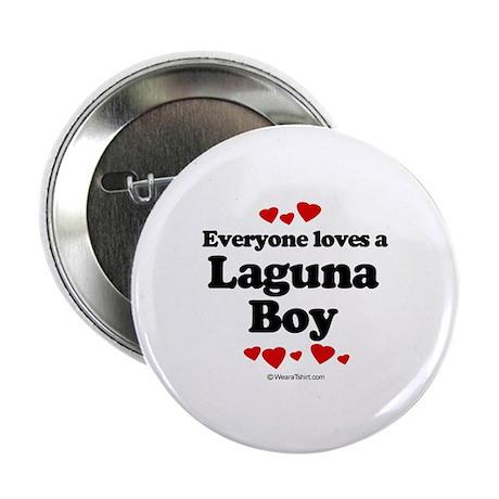 "Everyone loves a Laguna Boy - 2.25"" Button (100 p"