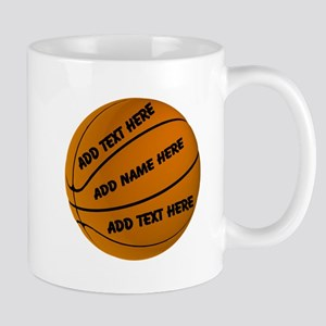 Basketball 11 Oz Ceramic Mug Mugs