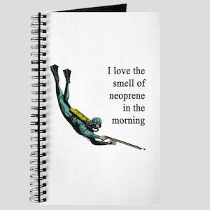 Neoprene Diver Journal
