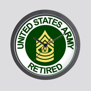 Command Sergeant Major <BR>Army Retired Clock
