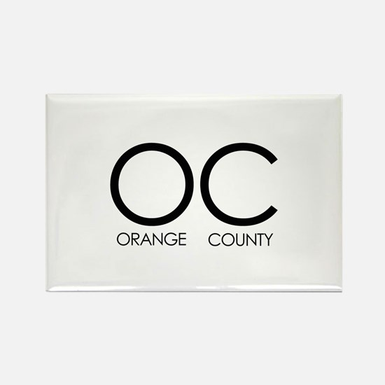 OC (Orange County) - Rectangle Magnet