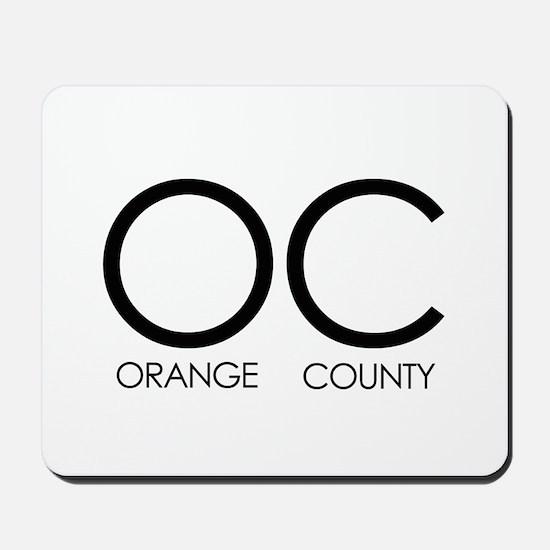 OC (Orange County) - Mousepad