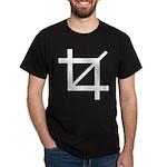 Crop tool symbol Dark T-Shirt