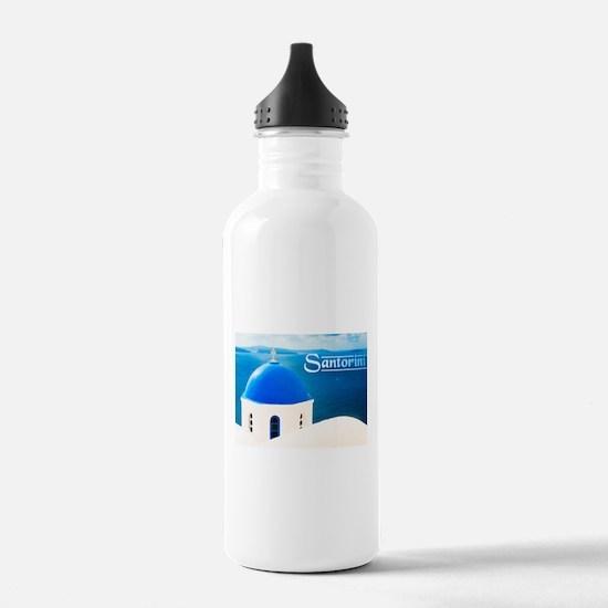 Cute Sorority greek Water Bottle