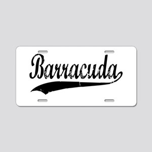 BARRACUDA Aluminum License Plate