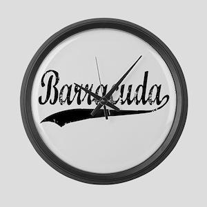 BARRACUDA Large Wall Clock