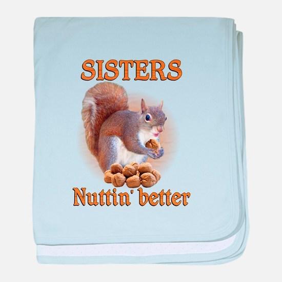 Sisters baby blanket