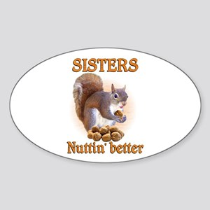 Sisters Sticker (Oval)