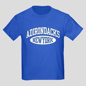 Adirondacks NY Kids Dark T-Shirt