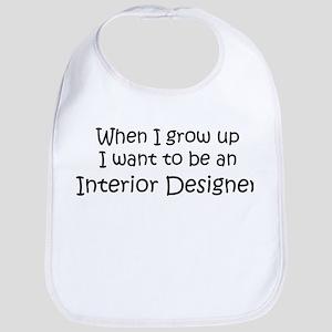 Grow Up Interior Designer Bib
