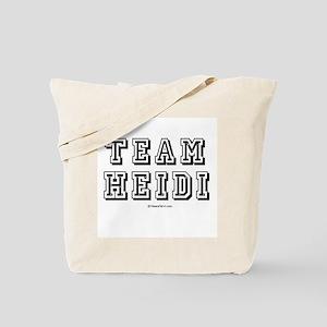 Team Heidi - Tote Bag