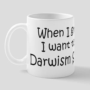 Grow Up Darwism Student Mug