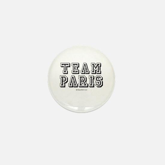 Team Paris - Mini Button