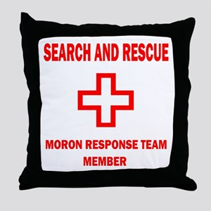 Rescue Throw Pillow