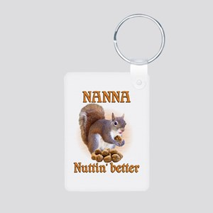 Nannas Aluminum Photo Keychain